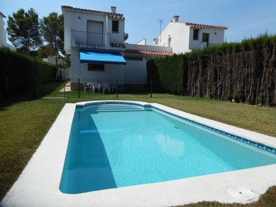 Photo for FAMILY HOUSE WITH GARDEN AND SWIMING-POOL, BBQ AND WIFI_JUAN DE ALMENARA