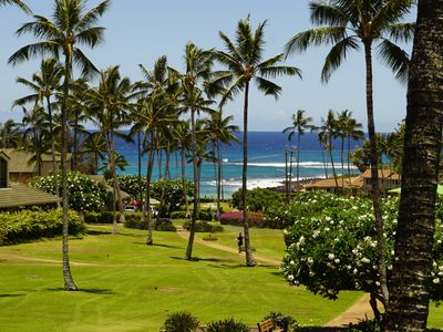 Photo for Stunning Ocean View 1bed/1bath, Steps from the beach - Kahala 623