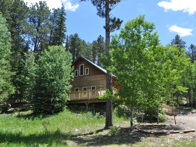 Photo for Family-Friendly Cabin Minutes From The Ski Slopes And Tubing Runs! Hot Tub
