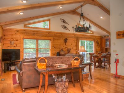 Photo for River Wilderness Is Your Log Cabin Dream in Western North Carolina
