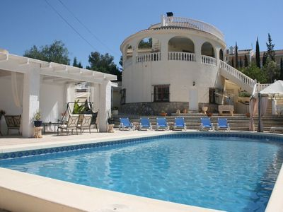 Photo for Luxury villa with large private swimming pool with lots of privacy