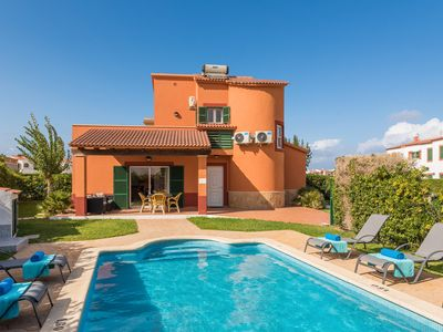 Photo for Villa with private swimmingpool and sea wiews, 50 mts. from the beach.House with character