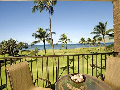 Photo for Kauhale Makai 535 - 2 Bedroom, Renovated 5th Floor Oceanfront Condo, Pool