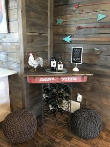 Complimentary wine for your visit!