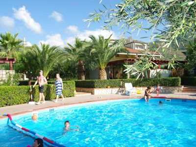 Photo for Fontana Barone Villa 4 - Semi-detached Villa with Swimming Pool, 600 Meters from a Sandy Beach ! - Free WiFi