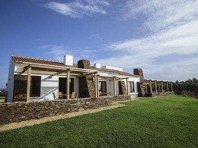 Photo for Modern apartments in a peaceful rural setting, 15 minutes walk from beaches.