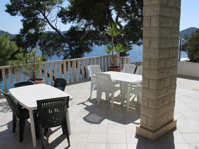 Photo for Two bedroom apartment near beach Pasadur, Lastovo (A-8337-a)