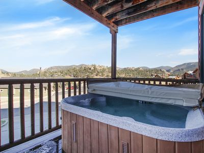 Photo for Nakai Peak 41B - 2 Br condo with private hot tub, Marys Lake and mountain views!