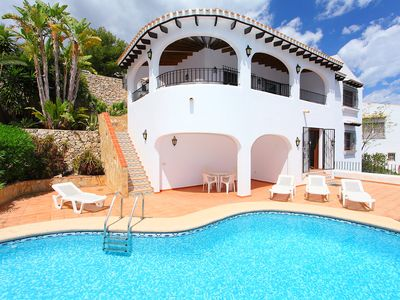 Photo for This 3-bedroom villa for up to 8 guests is located in Pego and has a private swimming pool and Wi-Fi