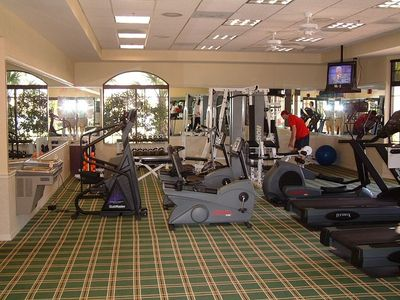 Here is our  exercise  room rebuilt in our activity center.  opened in June 2017