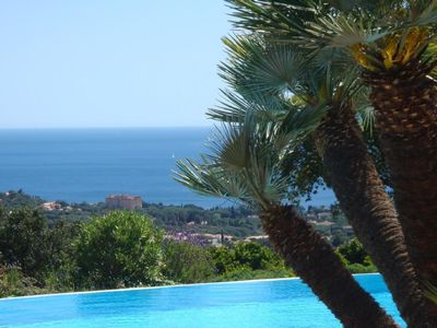 Photo for Apartment Les Issambres for 5 people with 2 bedrooms - Apartment in a secluded
