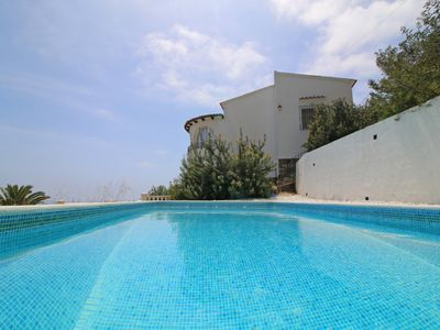 Photo for Modern villa Martinet recently reformed and furnished on the coast of Benissa.