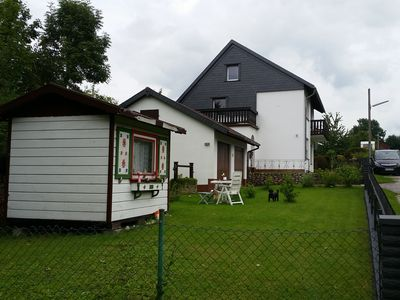 Photo for Dog-friendly, well-equipped apartment, on the western edge of the Harz (Bad Grund)