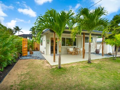 Photo for The Cottage at Hale Oahu in Kailua; Legal Vacation Rental; Beachfront Estate