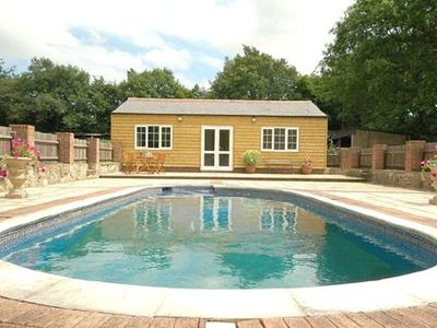 Photo for Lovely Sussex Countryside Cottage with use of pool & hot tub, sleeps 4