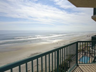 Photo for Live In Style In A Direct Oceanfront Condo!!!