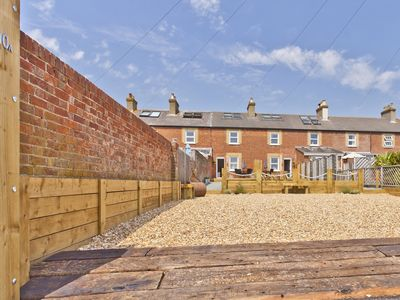 Photo for Coastguard Cottage with panoramic sea views.