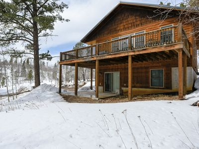 Photo for Trails End-Terry Peak Cabin close to outdoor activities and attractions