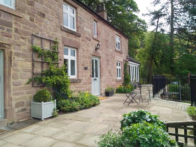 Photo for Luxury Cottage with spectacular rural views, private garden, sunroom and terrace