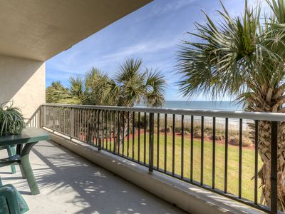 Oceanfront gorgeous view and onsite amenities have it all! Sleeps 8