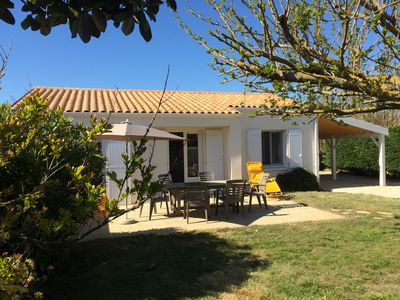 Photo for Detached house in a quiet fenced garden 150 m from the beach