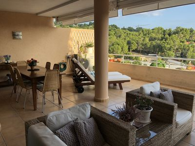 Photo for Luxurious 3 bedroom Holiday Apartment located in Altea, Costa Blanca, Spain