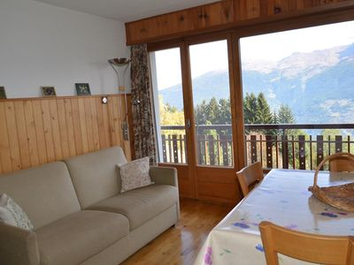 Photo for Beautiful renoveted flat for rent in Les Collons