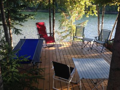 Photo for Riverside Guest House overlooking the Clearwater RIver draining Wells Gray Park