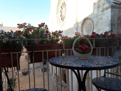 Photo for In the heart of Conversano with a splendid view of the Duomo - Il Nido delle Rondini
