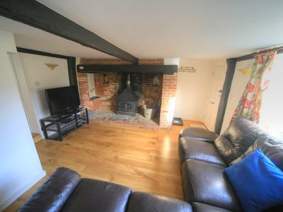 Photo for 3 bedrooms 17C character cottage  WIFI 20 mins Cambridge home away from home