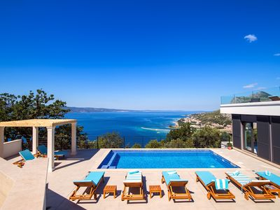 Photo for SPECIAL OFFER!! New! Modern & luxury villa Kanunel with panoramic sea views!