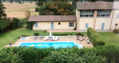 Photo for Beautiful charming house in Italy with pool in the countryside