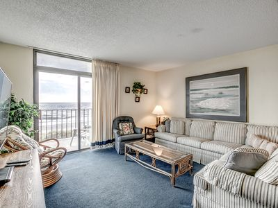 Photo for Spacious oceanfront corner unit + FREE DAILY ACTIVITIES!