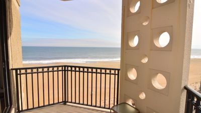 Photo for #413 Ocean Front Condo 1 Bedroom, 1 Bath, One Virginia Avenue, Rehoboth Beach DE