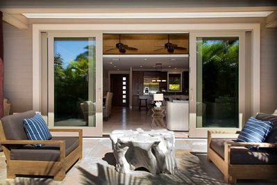 Private  Lanai off living Room - relax and enjoy !