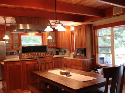 Photo for Beautiful Neacoxie Creek Front, Hot Tub, Short Walk to Beach, Kayak from Yard