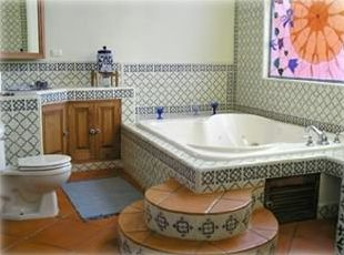 Master Bathroom in the Main House