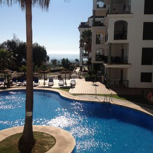 Photo for Apartment with 4 Swimming Pools and view of local golf course