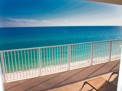 Photo for Relax and Enjoy this Tropic Winds 2/2 Condo w/ XL Balcony and Beach Service!