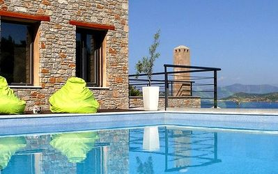 Photo for Executive Skiathos Villa | Villa Aegeus | Sea Views | Vassilias