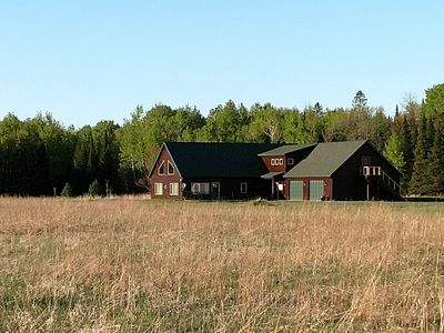 Photo for House on 220 private acres that sleeps 15+