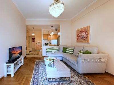 Photo for Nice and Clean Apt near Metro Panormou