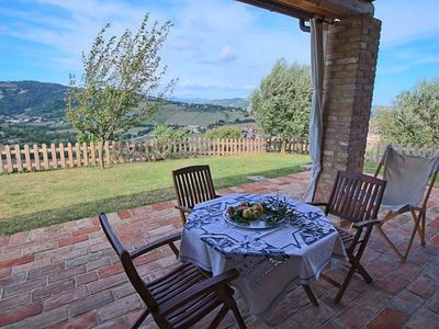 Photo for Special OFFER! Delicious retreat in amazing summer country w / pool near Urbino