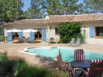 Photo for Detached Provencal house situated in a large wine region