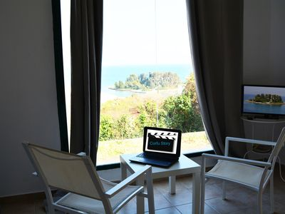 Photo for Corfu Story - Breathtaking view house - The sequel