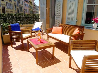 Photo for CARRE D' OR TERRACE AP4015 by RIVIERA HOLIDAY HOME - Apartment for 5 people in Nice