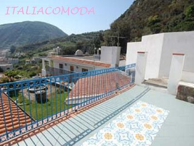Photo for holiday home in Lipari 250mt from the beach