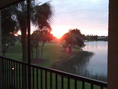 Photo for Great Sunsets, Beautiful 2nd Floor Condo Kelly Greens