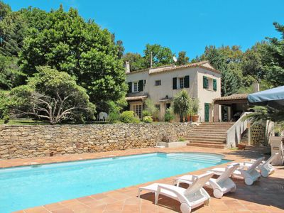 Photo for La Garde-Freinet Holiday Home, Sleeps 8 with Pool and Free WiFi