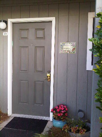 A BEACH PEACH 131 WELCOME! ~ Our Front Door, With Parking Space Just 6